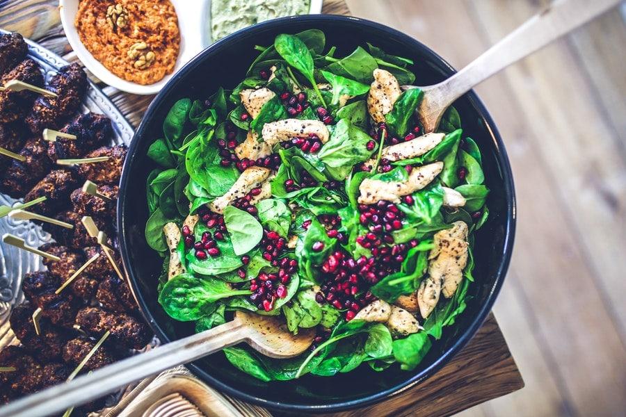 zdrowy pełnowartościowy posiłek